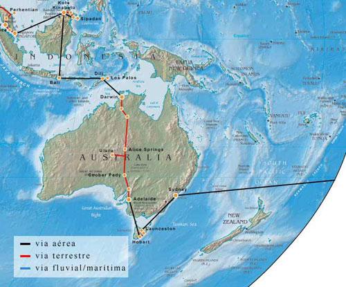 Kelionės po pasaulį - Pietryčių Azija ir Australija
