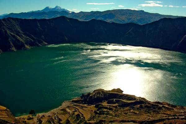 Lagoa Quilotoa, Equador