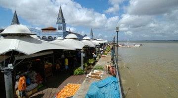 Ver-o-Peso markaður yfirlit, Belém do Pará, Brasilía