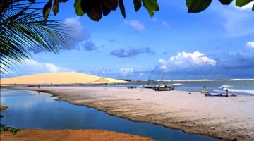 Brasiilia Ceará rannikul asuv Jericoacoara rand