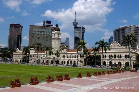 Kuala Lumpur, capital da Malásia