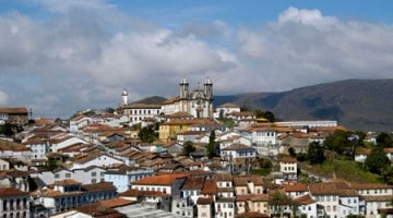 Centro histórico de Ouro Preto, Minas Gerais