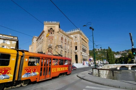 Edifício da Biblioteca Nacional, Sarajevo