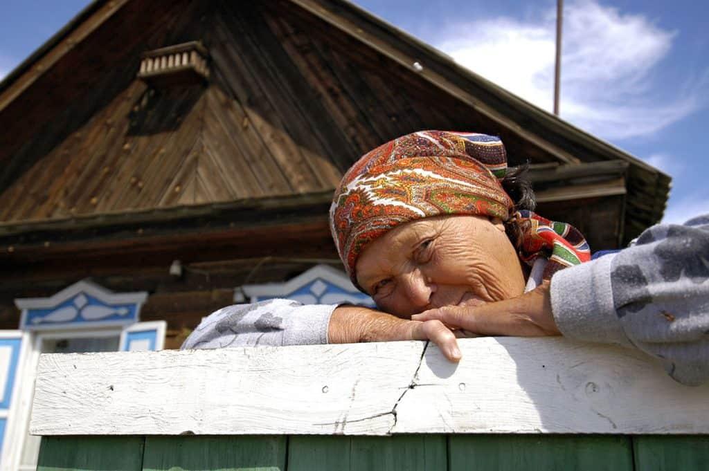Emberek fényképezése: Szibéria