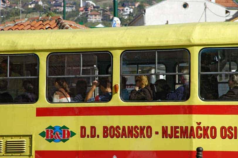 Transportes em Sarajevo