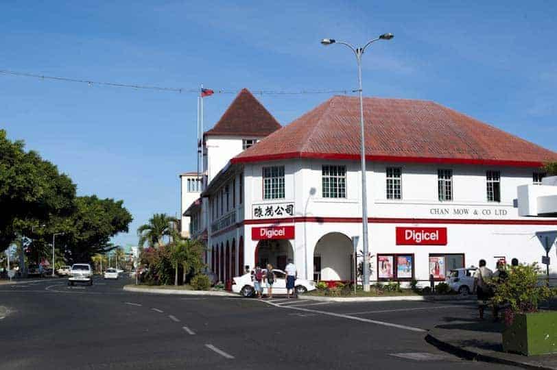 Centre d'Apia, capital de Samoa
