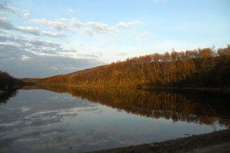 Lake í Kevo Nature Reserve