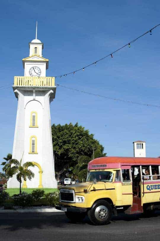 Torre del rellotge, Apia, illa de Upolu
