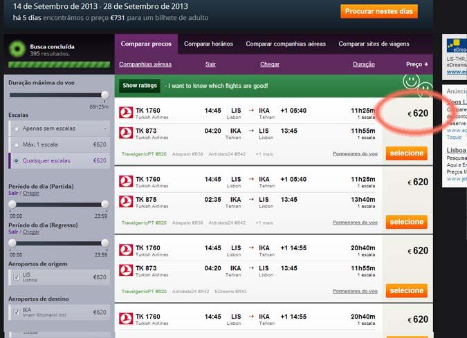 cambiar las fechas de los vuelos