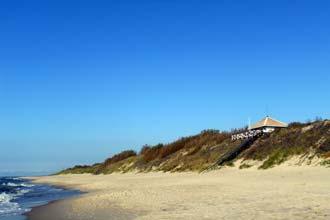Praia em Nida, Lituânia
