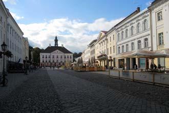 Centro histórico de Tartu, Estónia