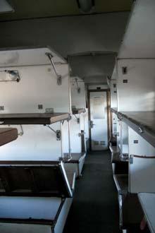 Classe Platzkart sui treni ucraini
