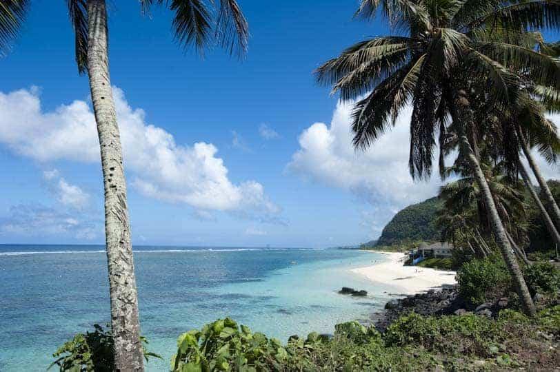 Lalomanu, sul de Upolu, Samoa