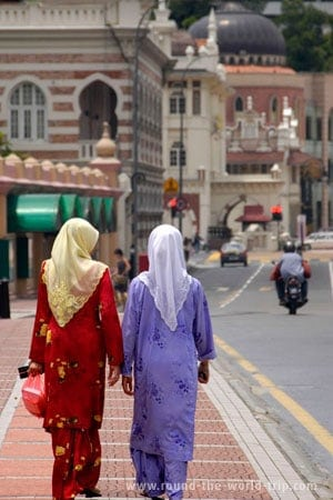 Ruas de Kuala Lumpur, Malásia