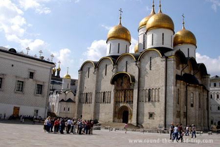 Praça das Catedrais, no Kremlin