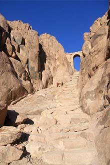 Caminho da Penitência, Monte Sinai