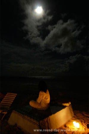 Noite de lua cheia en Porto Seguro