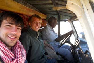 Hitchhiking con Franz in Sudan