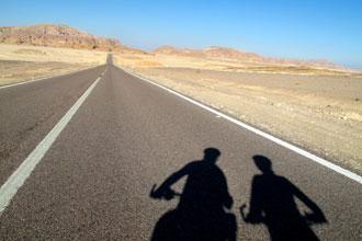 Estradas no Sinai