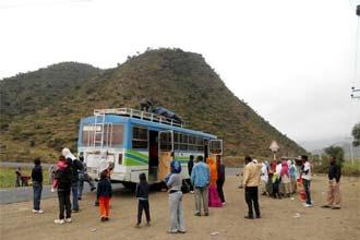 Kelyje į Lalibelą, garsiausią Etiopijos turistų lankomumą