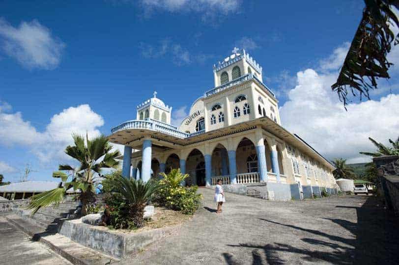 Església de Lalomanu, Samoa