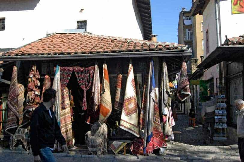 Loja de artesanato, Sarajevo