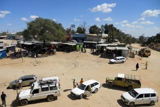Ferðast milli Addis Ababa og Mombasa