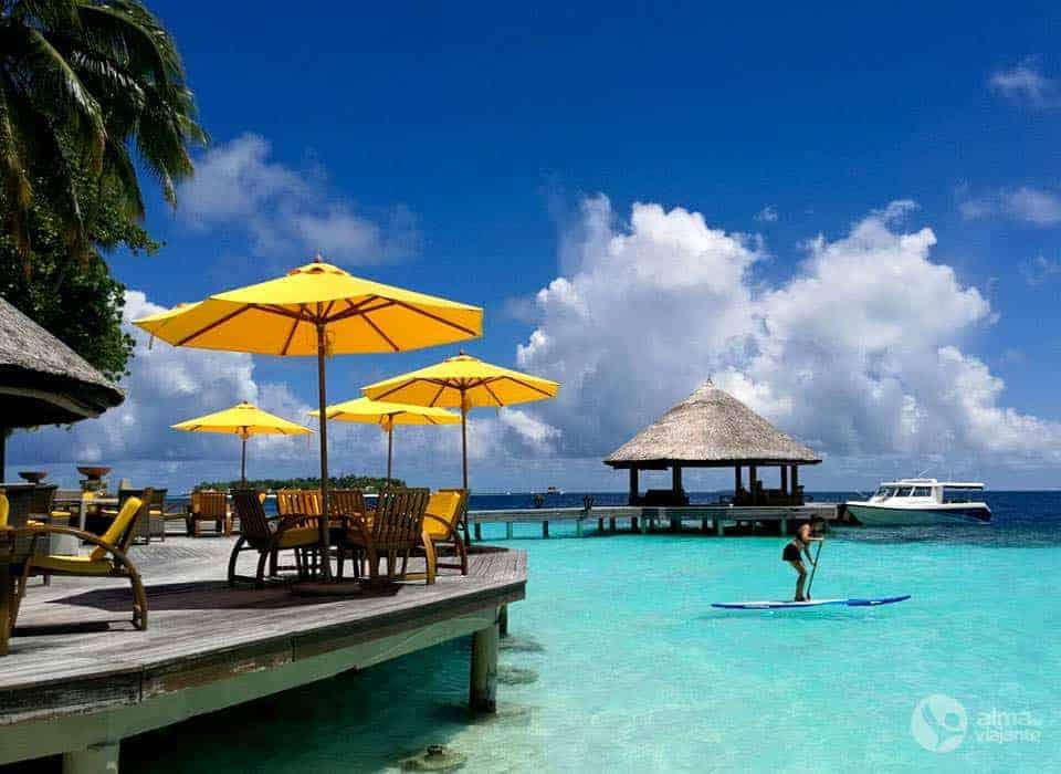 Resort nas Maldivas