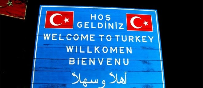 Welcome to Turkey - but not yet! - Eurásia