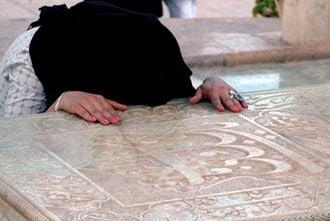 Túmulo do poeta Hafez, em Shiraz