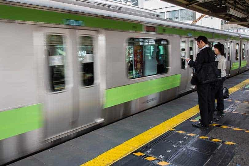 Comboio da linha Yamanote, Tóquio