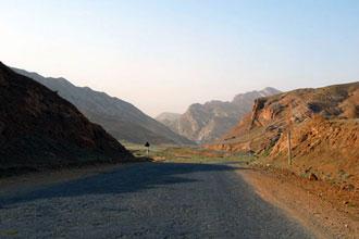 Montanhas no Turquemenistão