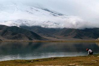 Lago Karakol, China