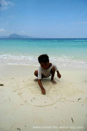 Criança malaia