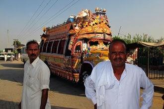 Autocarro no Paquistão
