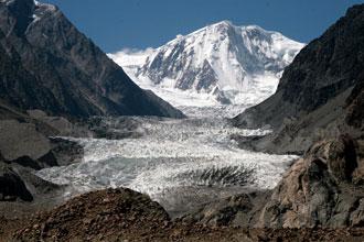 Glaciar em Passu