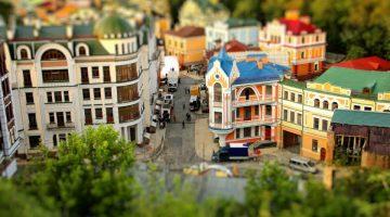 Kiev em miniatura (timelapse)