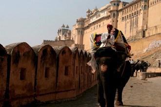 Amber Palace, próximo de Jaipur