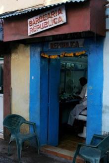 Barbearia República, em Goa