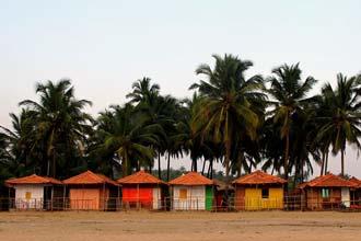 Praia em Agonda, Goa