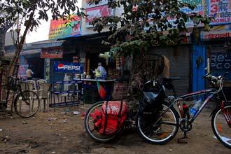 Bicicletas a caminho de Agra