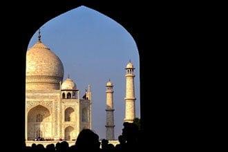 Taj Mahal, em Agra