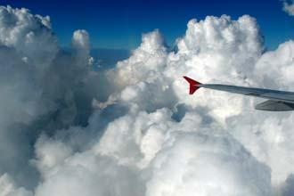 Com os pés no céu, a caminho de Banguecoque
