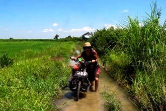 A caminho de Phnom Penh