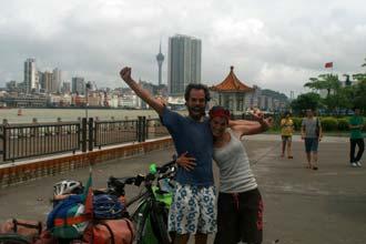 Finalmente em Macau