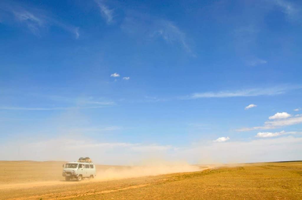 Carrinha 4x4, Mongólia
