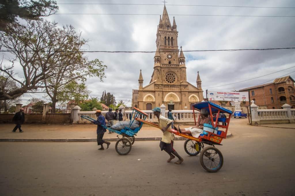 Catedral em Antsirabe