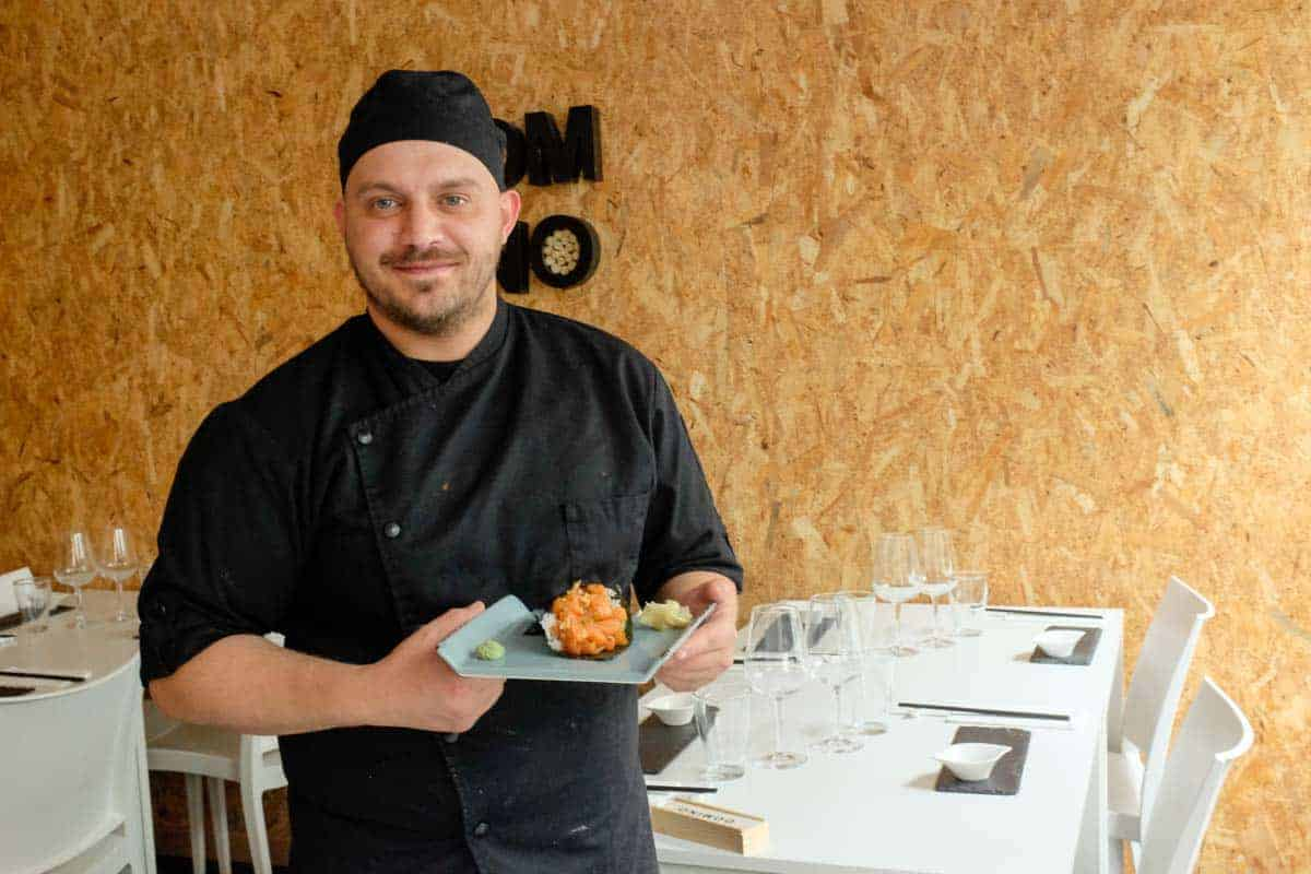 Onde comer sushi em Matosinhos: Dominó - Tasca Japonesa