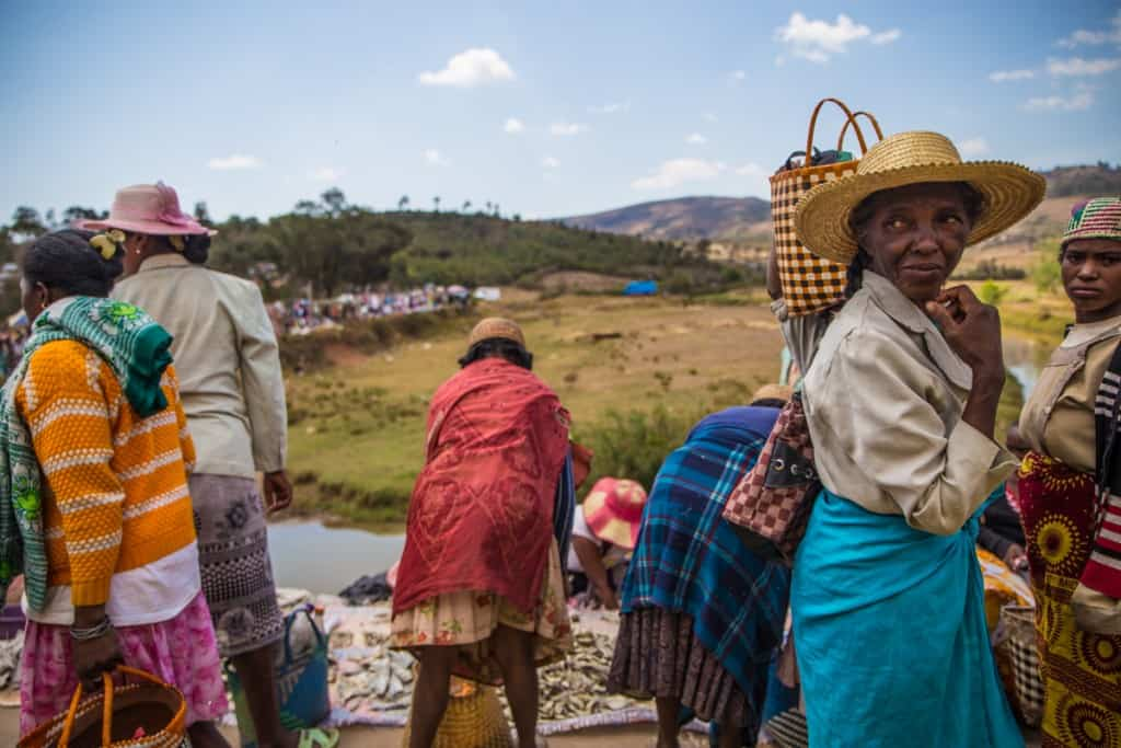 Dia de Mercado em Madagáscar