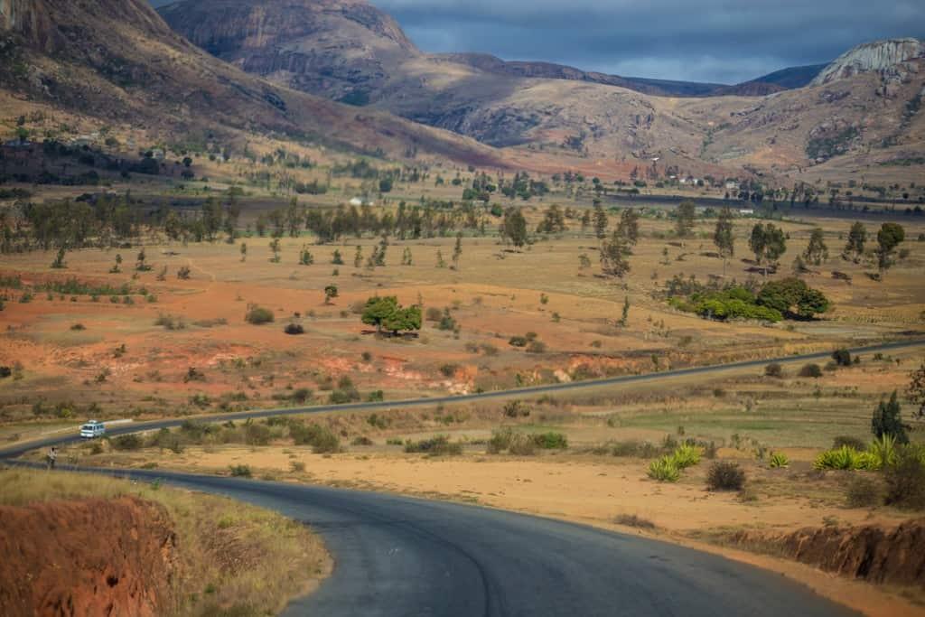 Estradas em Madagáscar